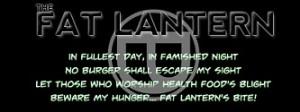 Fat Lantern