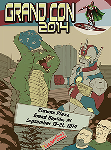 Drunk on Comics Podcast Special Edition: Grand Con 2014