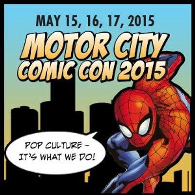 motor city comic con logo